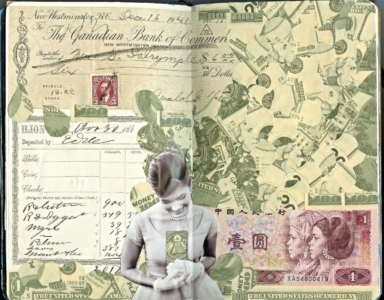 Money Mixed Media art